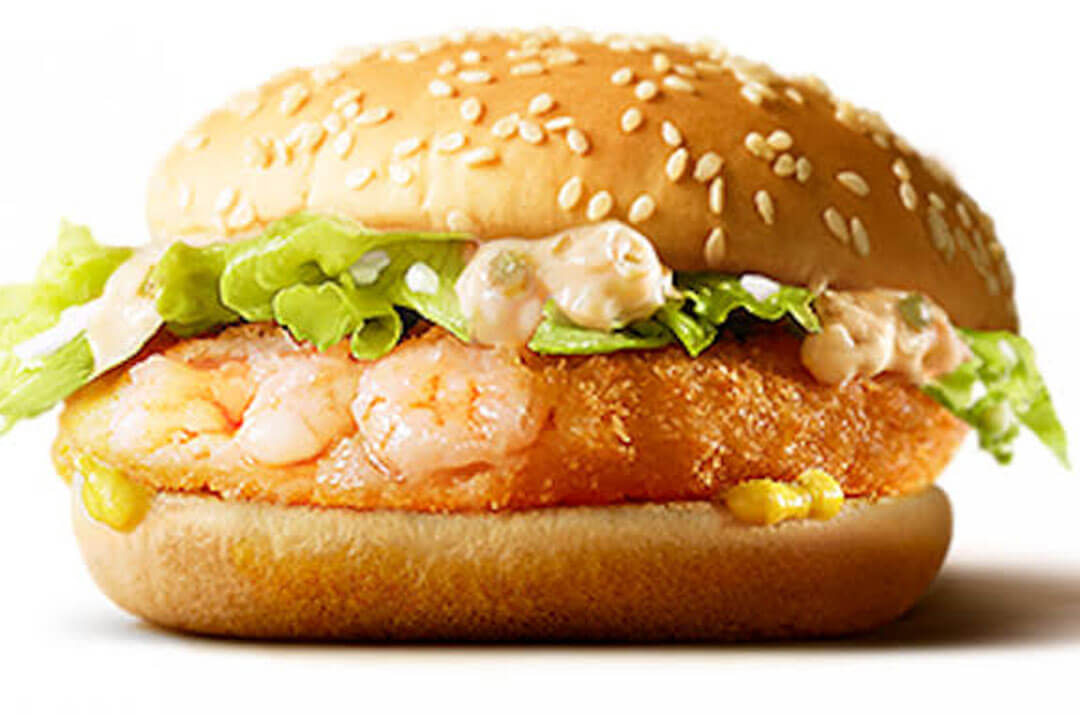 Ebi Filet-O Shrimp Burger